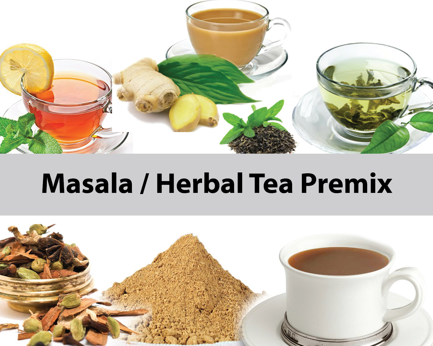 Mixer for Herbal Tea Mix