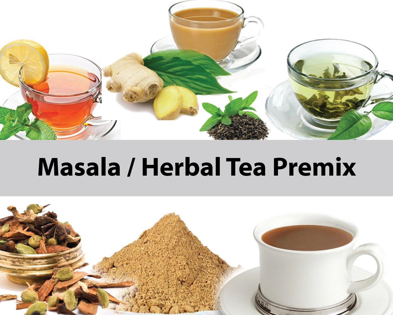Mixer for Herbal Tea Mix
