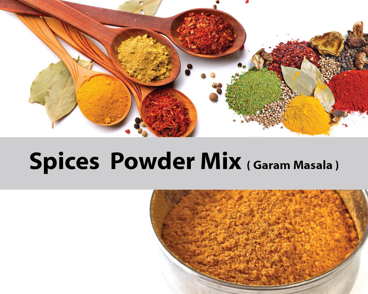 Mixer for Spices Powder Mix
