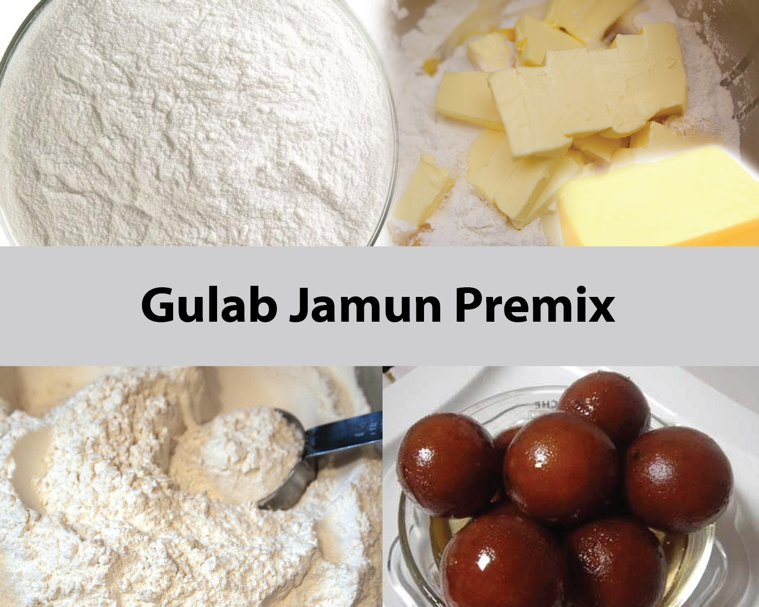 Mixer for Gulab Jamun Powder