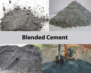 mixer for blended cement