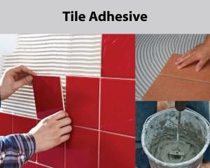 mixer for tile adhesive mix