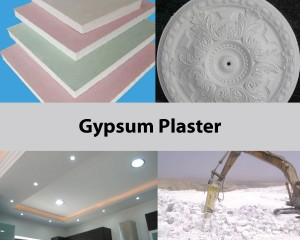 mixer for gypsum plaster mix